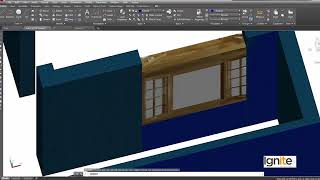 100   AutoCAD in Urdu Hindi by DigiSkills   Placing the Doors and Windows in AutoCAD 3D  360 X 640