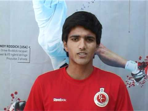 Pranav Divakar - Tennis College Scholarship Video