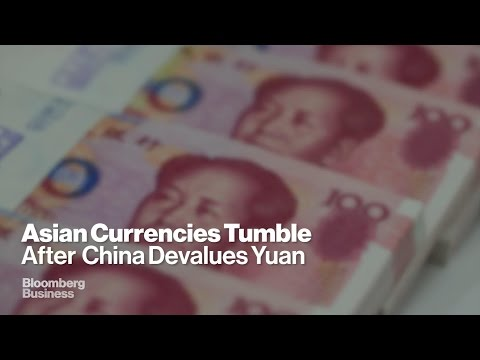 Yuan Devalued to Combat China Slowdown