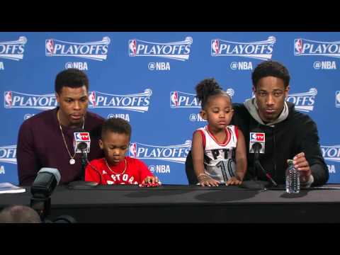 Raptors Post-Game: Kyle Lowry & DeMar DeRozan - May 1, 2016