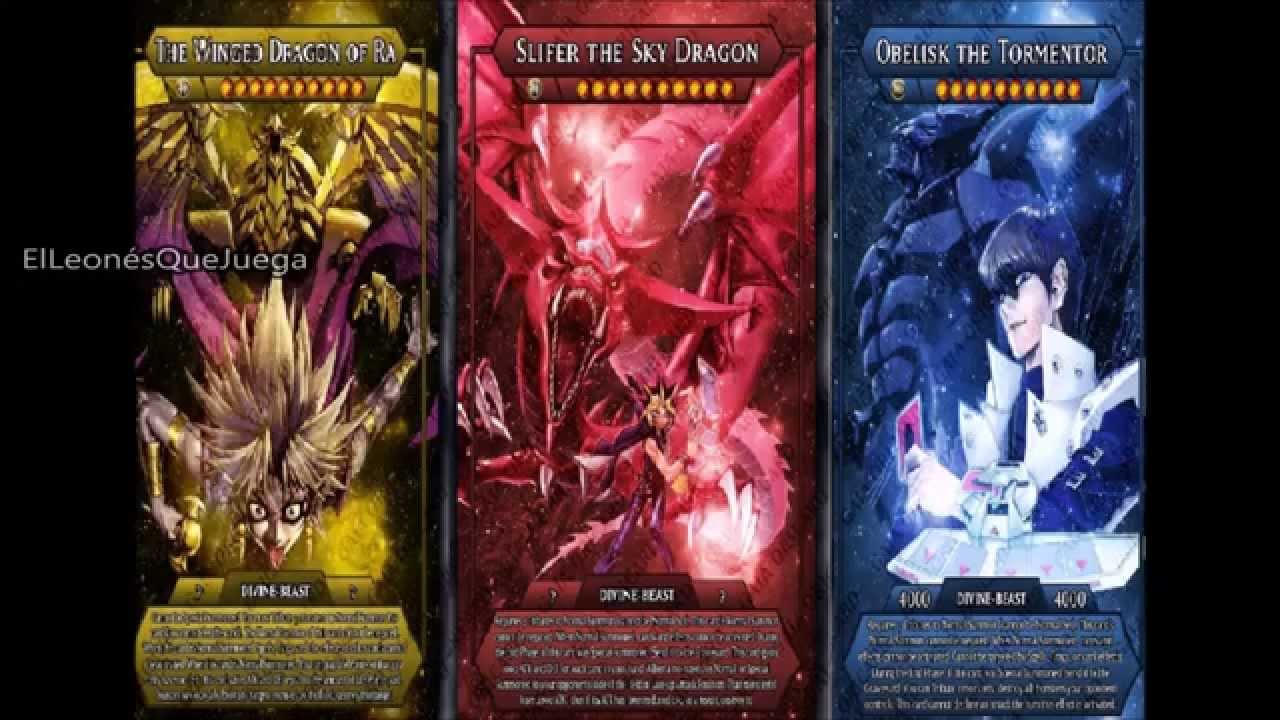 Yugioh Egyptian God Deck 2015 Egyptian God´s Deck 2015