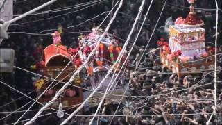 Karbala Taazia 9th Moharram 1438/2016 - Rohri