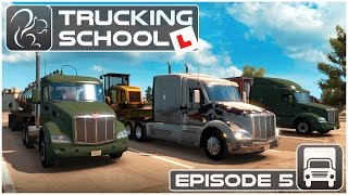 Trucking School - Episode #5 - How to Reverse a Truck