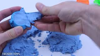 Magic Kinetic Sand. Surprise Toys Fun for Kids. Kinetic Sand 2019. Play with Kinetic Sand 2019