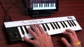 iRig KEYS - portable keyboard for iPad - Music2