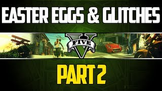 GTA 5 Easter Eggs And Secrets Compilation 2: CJ, Master Chief, Red Dead Redemption, Thelma & Louise