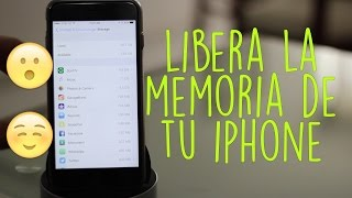Tutorial | Libera Memoria de tu iPhone