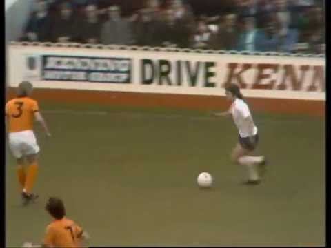 Tottenham Hotspur v Wolves, 1st November 1975