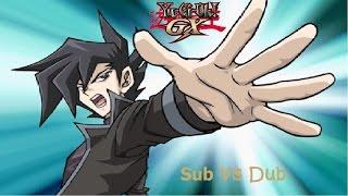 Yu-Gi-Oh GX Sub VS Dub (Manjoume/Chazz victory chant)