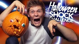 HALLOWEEN SHOCK CHALLENGE - #CreepyHollow | Joey's Jungle