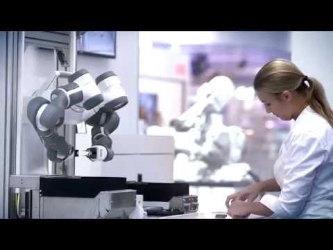 ABB Robotics – Dual Arm Concept Robot at Automatica 2014