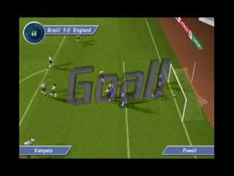 D.Beckham soccer: England Vs Brasil (PS ONE)