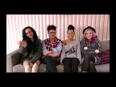 Little Mix Says Hi To Norway