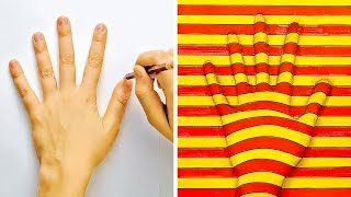 18 DRAWING TRICKS TO BLOW YOUR MIND