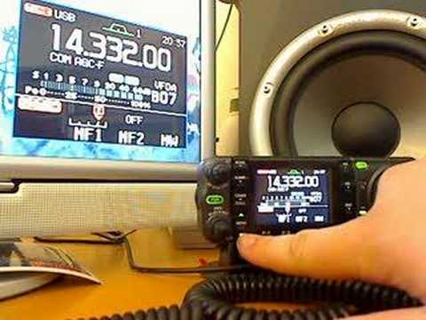 Icom IC-7000 IF DSP test