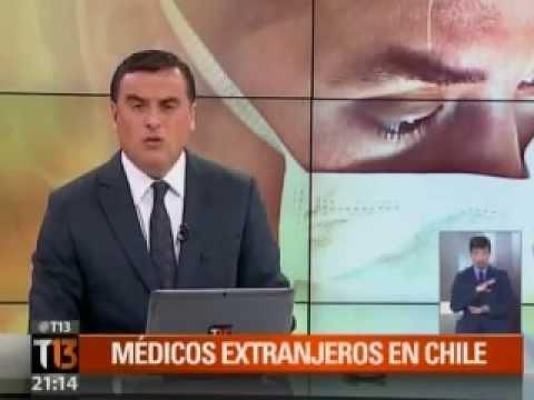 Encuesta La Brújula Salud Express sobre médicos extranjeros para Chile (TV13)