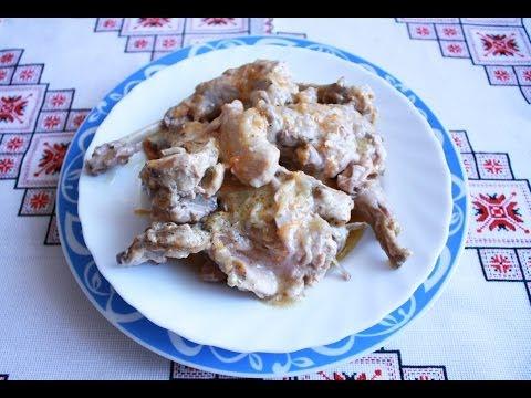 ролик в сметане ак приготовить кролика блюда из кролика кролик рецепт кролик в духовке