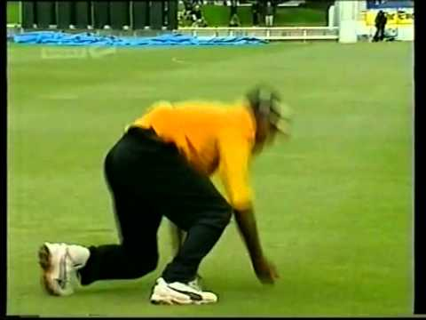 Best cricket catch ever? Mayu Pasupati - State Shield final 2000