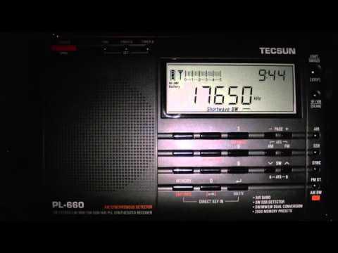 China Radio International 17650kHz Shortwave 09:43UTC