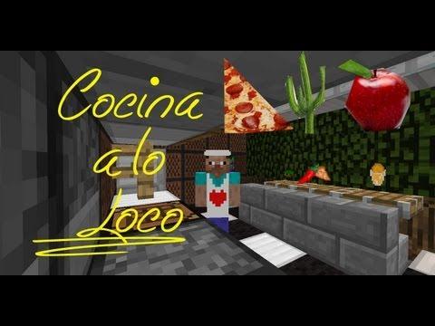 Cocina A Lo Bestia | Sopa Cactus, Pizza y Helado | Minecraft | -ErlaitzOMG