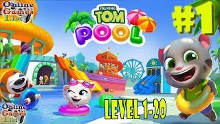 Talking Tom Pool Android/iOS Gameplay HD