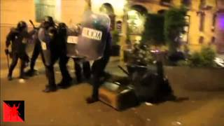 Video- Macetero Antisistema Ataca a la Policia #22M