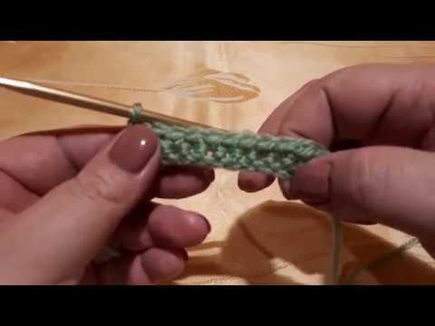 Воздушные петли и столбики без накида /Урок №1/вязание крючком