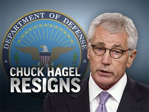 Under Pressure, Defense Secretary Hagel Resigns