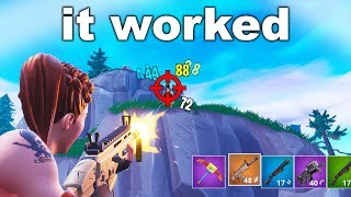 I Used a SECRET TRICK to Improve My Aim... (Fortnite)