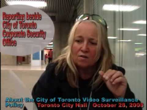 TORONTO CITY HALL VIDEO SURVEILLANCE CITIZEN