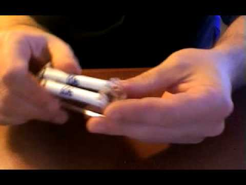 Rolling a Cigarette with a Roller