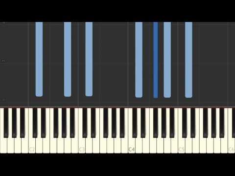Download Gymnopedie N 1  Erik Satie Easy piano tutorial
