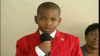 9 year old preacher warns Church on the Religion of Cain - AmlekoTube.com