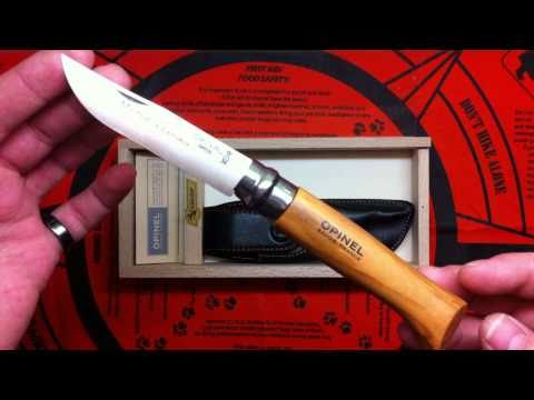 Opinel #8 knife review
