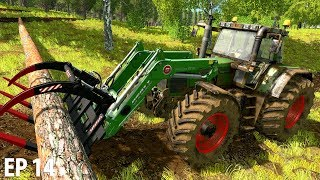 WE GOT AIR | Farming Simulator 17 | The Valley The Old Farm - Episode 14