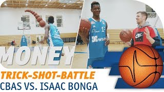 Isaac Bonga vs. C-BAS | HORSE Trick-Shot-Battle | easyCredit Basketball Bundesliga