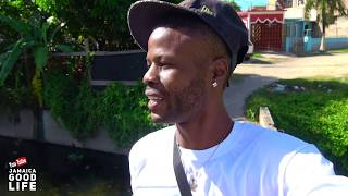 JAMAICA GOOD LIFE - EP448 - Blind Man Pluck Chicken In Seaview Garden With Kino