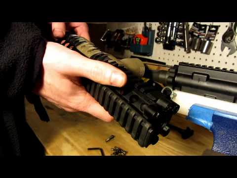 Daniel Defense Lite Rail Removal and Installation