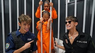 I Trapped My Little Sister in PRISON for 24 Hours!