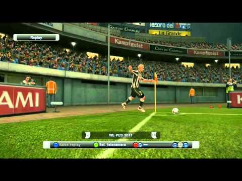 Pes 2011 – Gol spettacolare El Mubarki