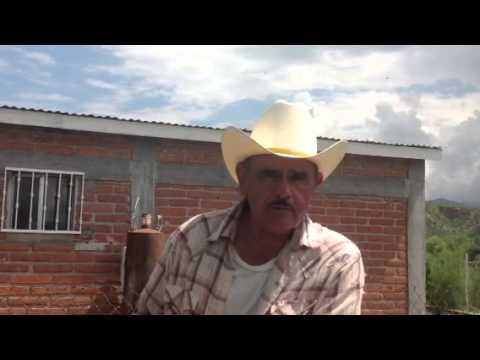 Un ranchero habla de la contaminacion del Rio Sonora