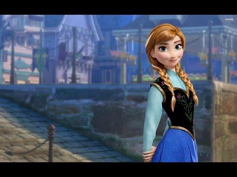 Como desenhar Anna do filme Frozen - Parte 1