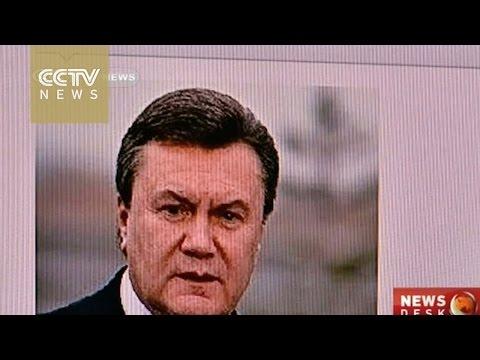 Interpol seeks arrest of ousted former Ukrainian president Viktor Yanukovych