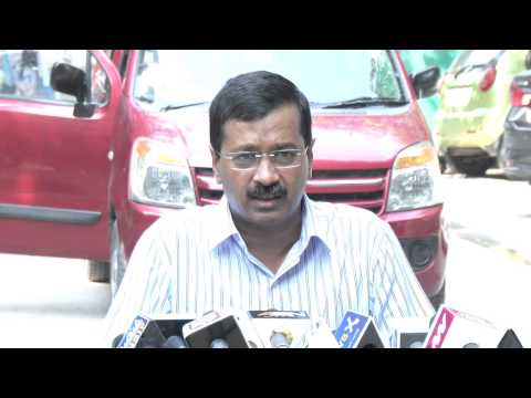 Arvind Kejriwal on Swachch Bharat Abhiyan and with media questions
