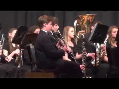 Mooresville High School Symphonic Band - On a Hymnsong of Philip Bliss