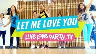 Let Me Love You [WATCH ON COMPUTER] | Zumba® | Dance Fitness | Live Love Party