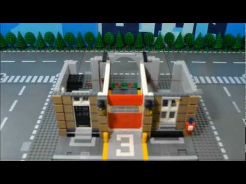 LEGO 10197 Fire Brigade - Time Lapse & Stop Motion