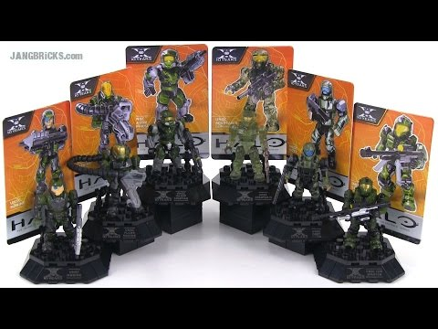 Mega Bloks Halo 96970 Anniversary Edition UNSC Troop Pack review!