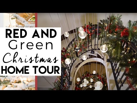 Christmas Decorating   Home Tour 2014  Traditional &amp  Elegant