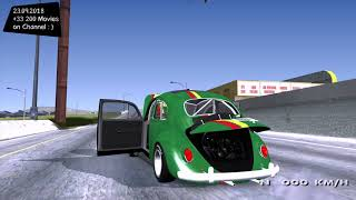 1963 Volkswagen Beetle Ragtop Sedan (Herbie style) v1.0 Grand Theft Auto V GTA V 🚗 I go to 4